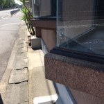 岩本貸店舗出窓ガラス