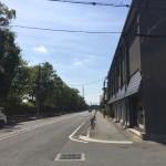 岩本貸店舗前面道路